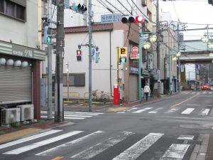3軒目の左手が東京健友館
